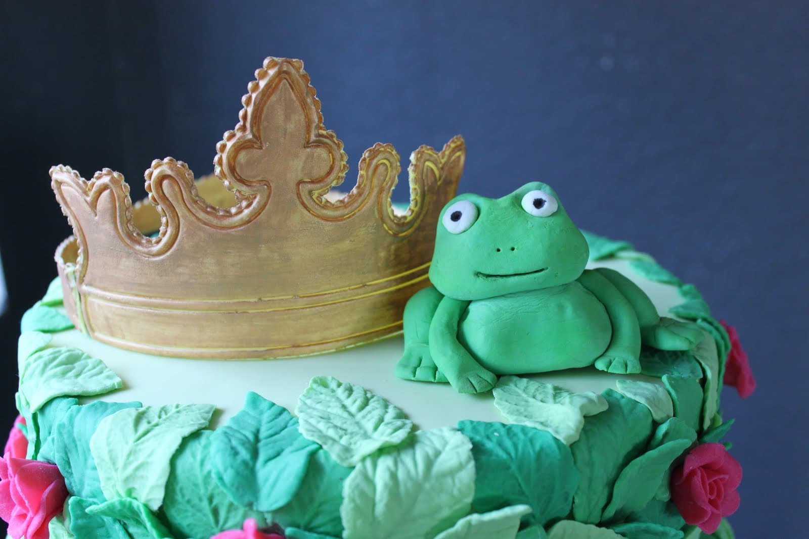 Awesome The Frog Prince Birthday Cake The Little Epicurean Birthday Cards Printable Benkemecafe Filternl