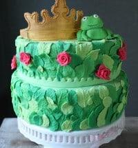 frog prince cake