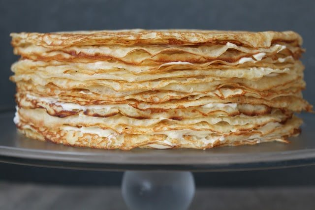 Gateau De Crepes Crepe Cake The Little Epicurean