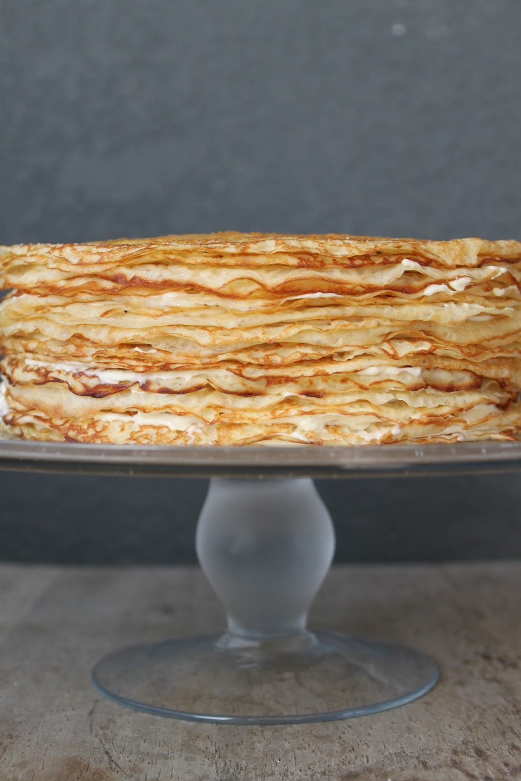 Gâteau de Crêpes (Crepe Cake) - The Little Epicurean