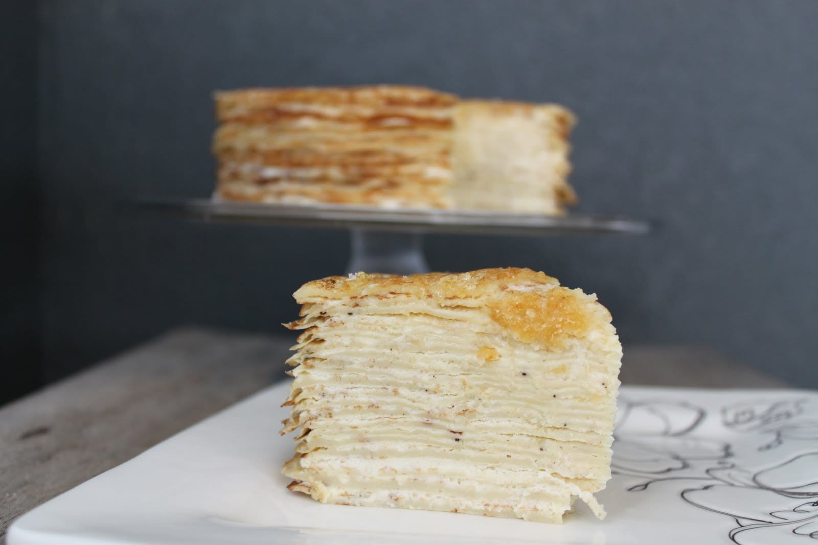 crepe wedding cake nyc g 226 teau de cr 234 pes crepe cake the epicurean 13091