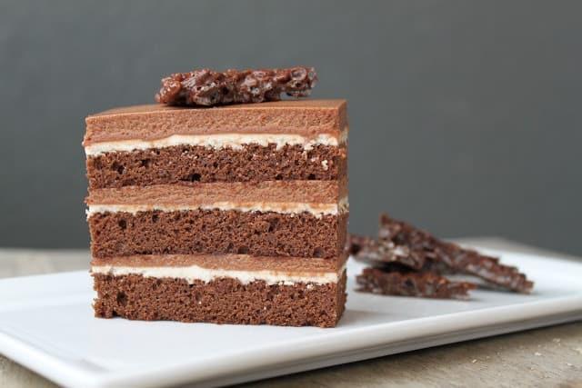 Chocolate Hazelnut Cake - The Little Epicurean