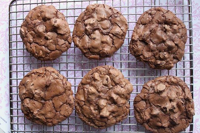 decadent chocolate cookeis