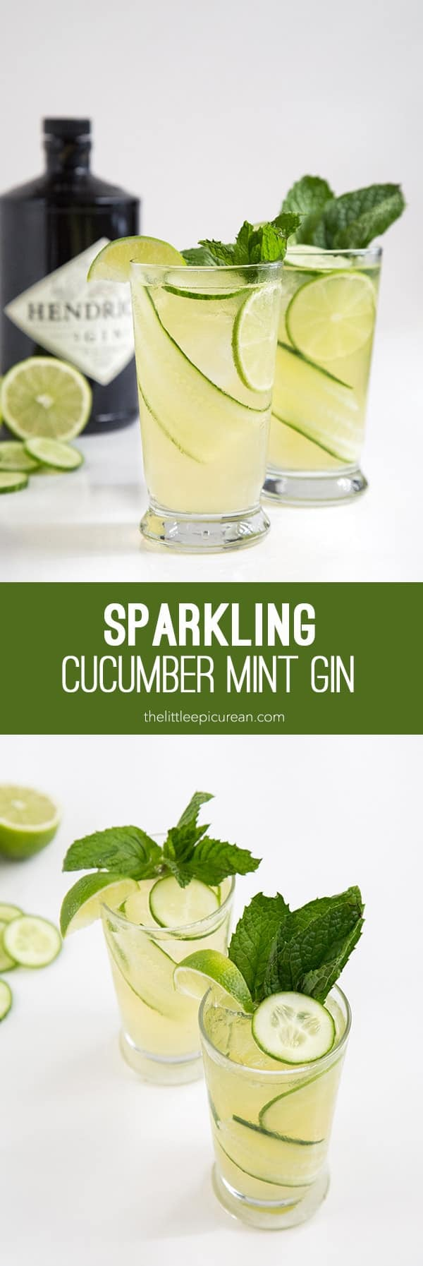 Sparkling Cucumber Mint Gin