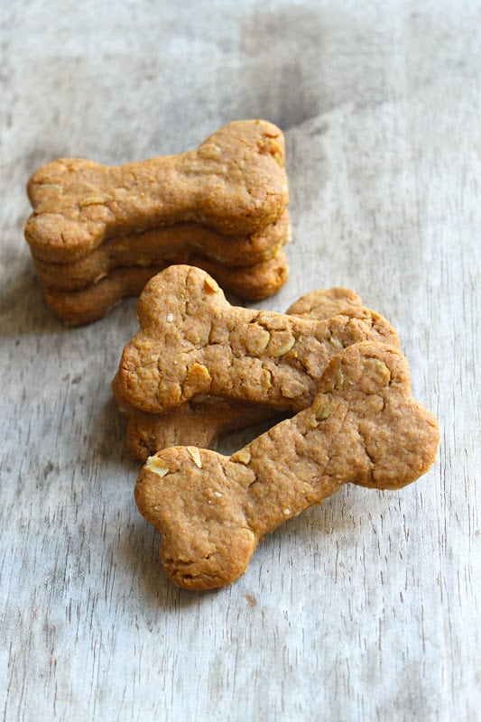 how to make peanut butter dog treats without flour