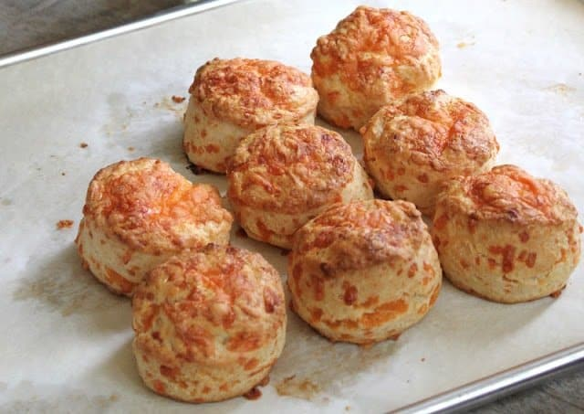 Cheddar Cheese Cream Biscuits