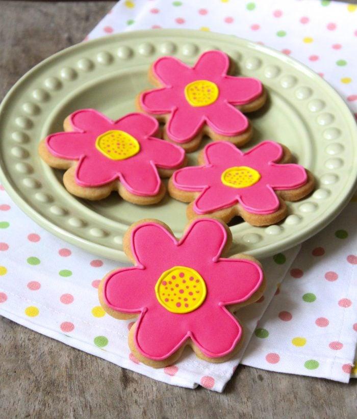 Spring Sugar Cookies with Royal Icing