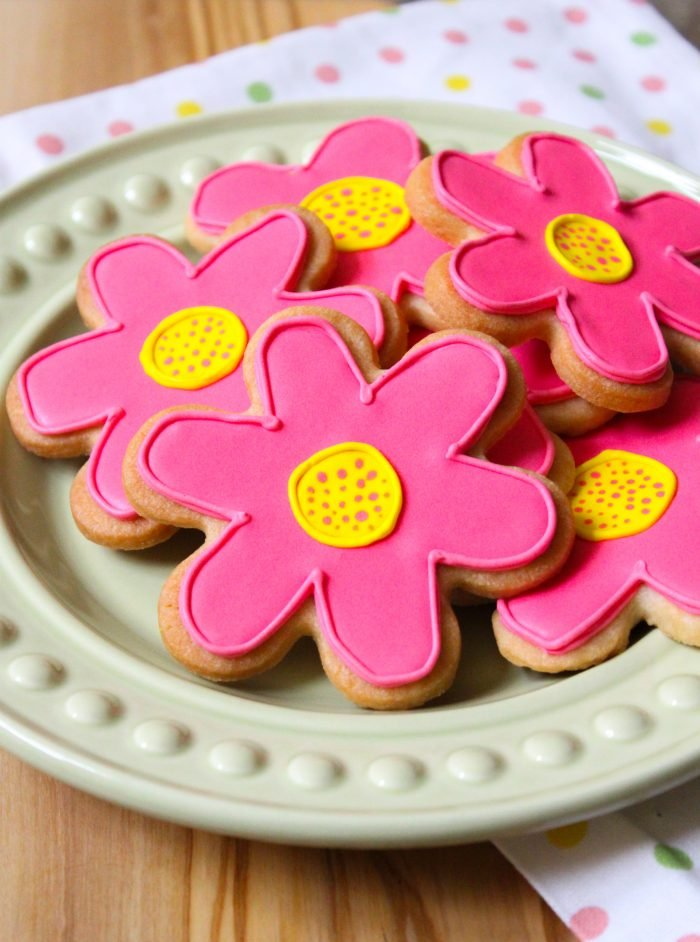 Spring Sugar Cookies   the little epicurean
