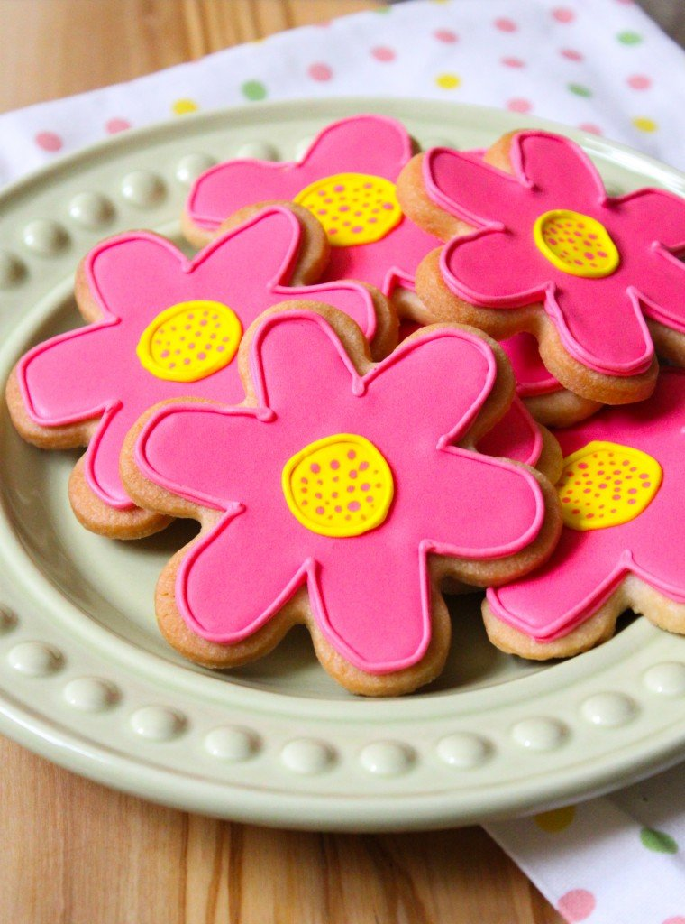 Spring Sugar Cookies | the little epicurean