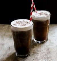 iced sea salt coffee