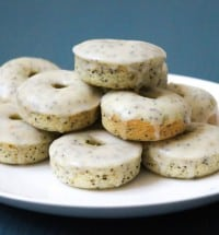 orange poppy seed donuts