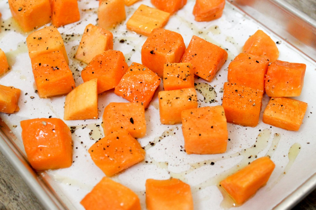 uncooked butternut squash