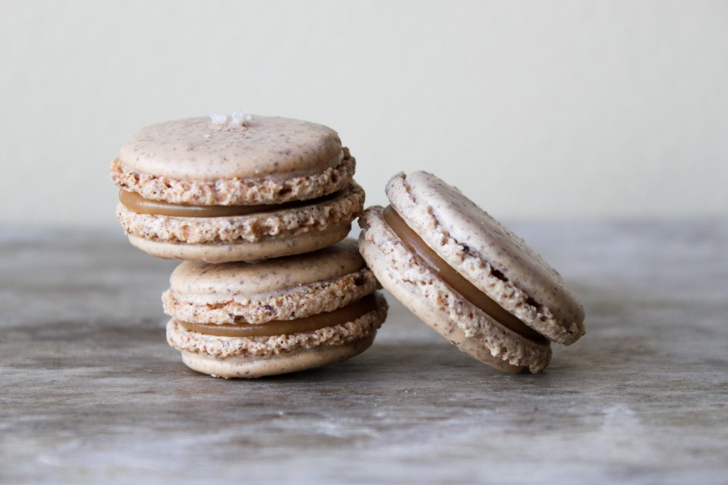 Sea Salt Caramel Macarons