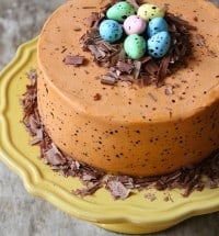 speckled egg cake 1