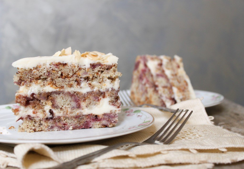 layer cake tips the biggest birthday cake yet raspberry and almond ...