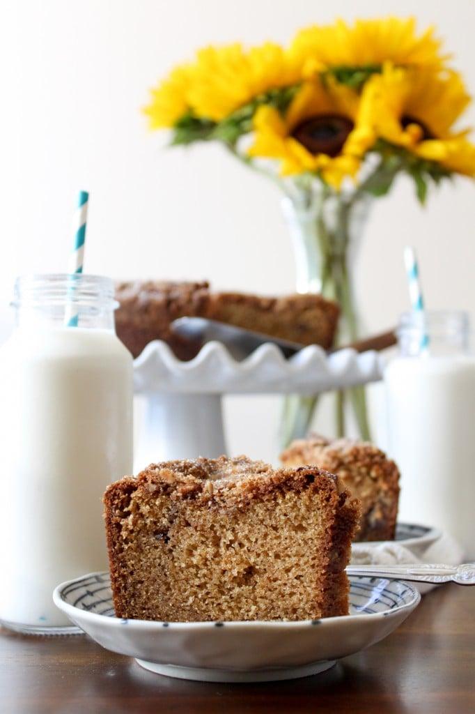 Chai Spice Coffee Cake
