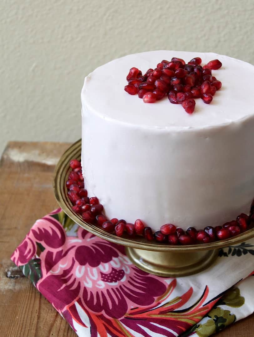 Pomegranate Cake The Little Epicurean