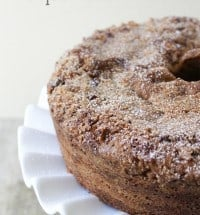 chai spice coffee cake
