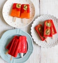 strawberry popsicle
