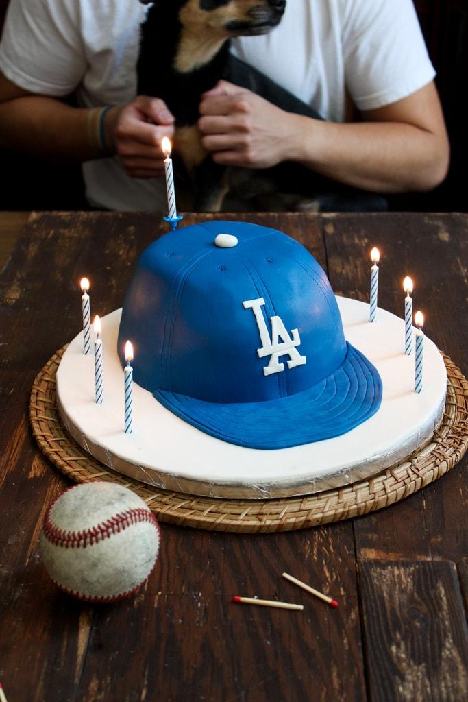 Baseball Cap Cake The Little Epicurean