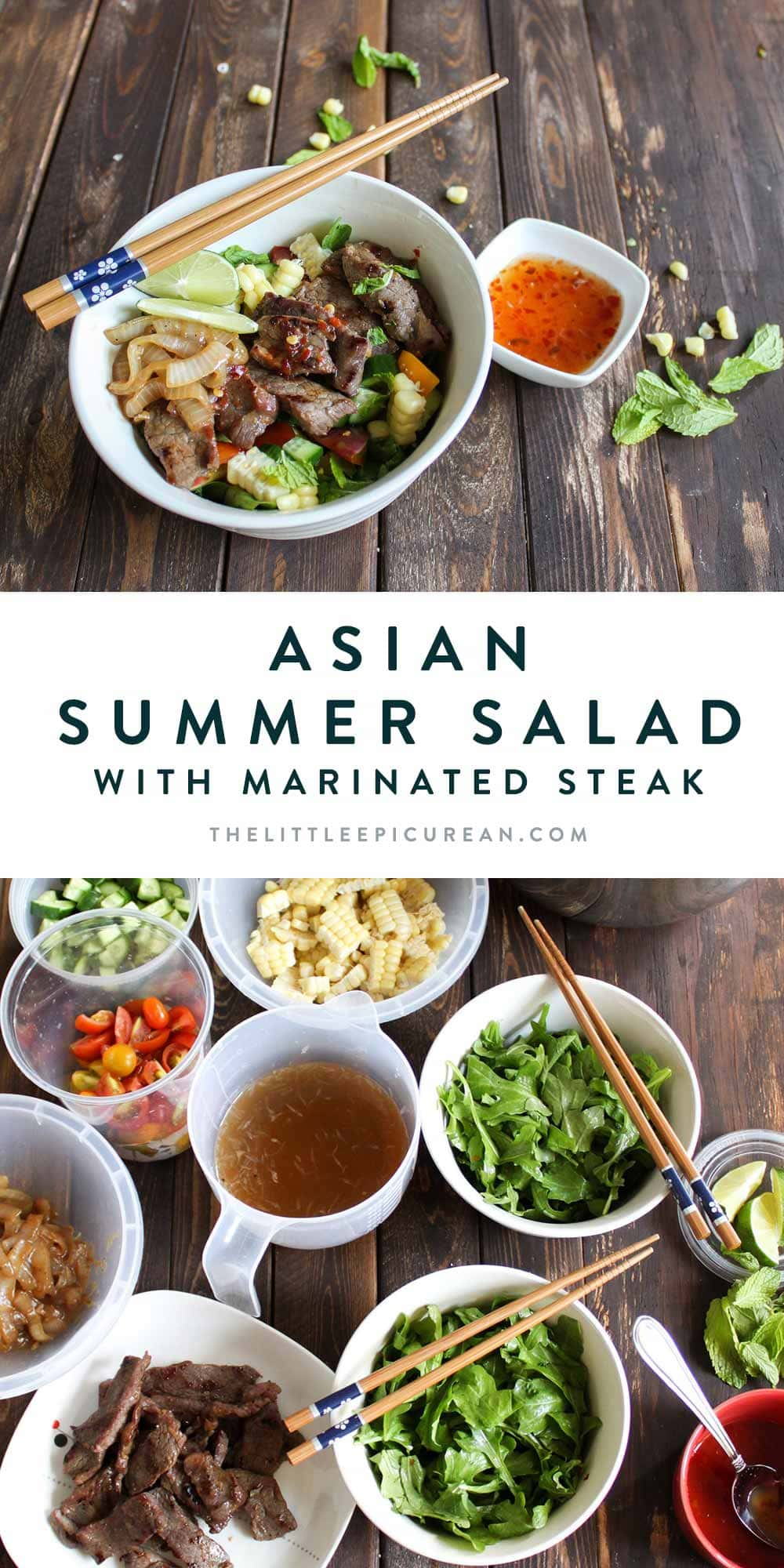 Asian Summer Steak Salad