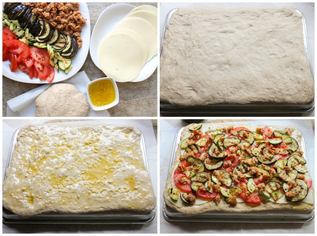 step by step pizza