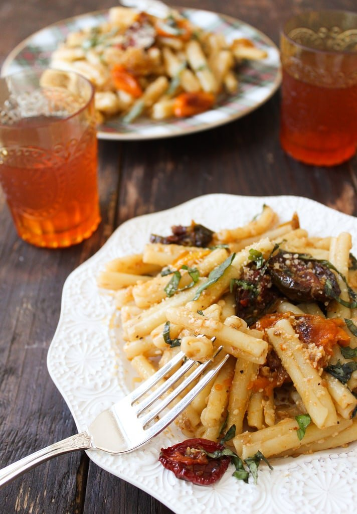 Roasted Tomato Pasta Dish