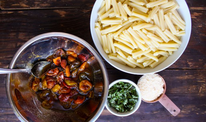 Roasted Tomato Pasta Recipe Ingredients