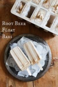 Root Beer Float Bars