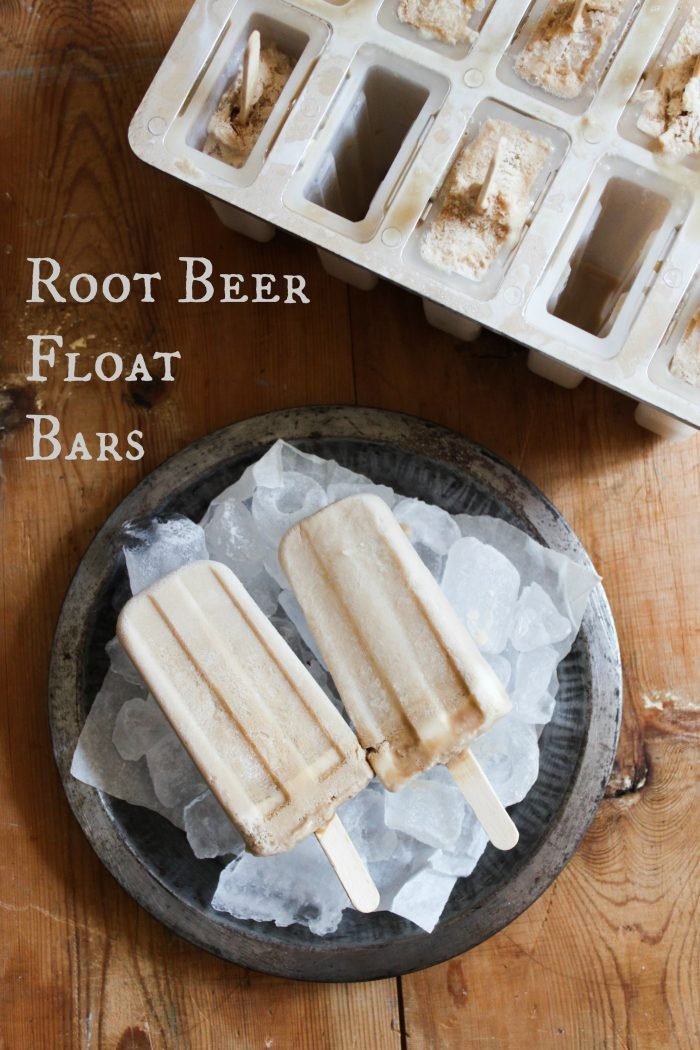 root beer float bars
