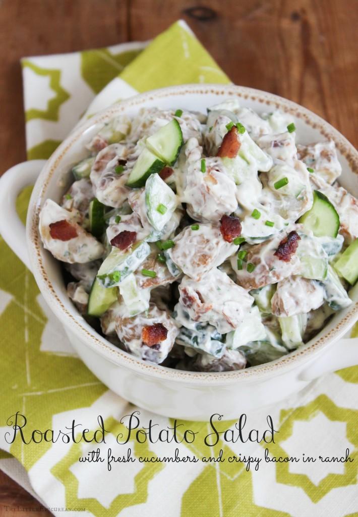 TheLittleEpicurean_roasted potato salad