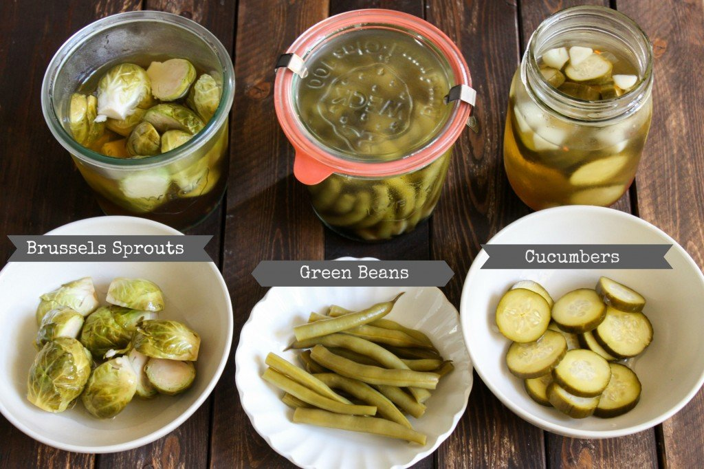 TheLittleEpicurean_variety of pickles