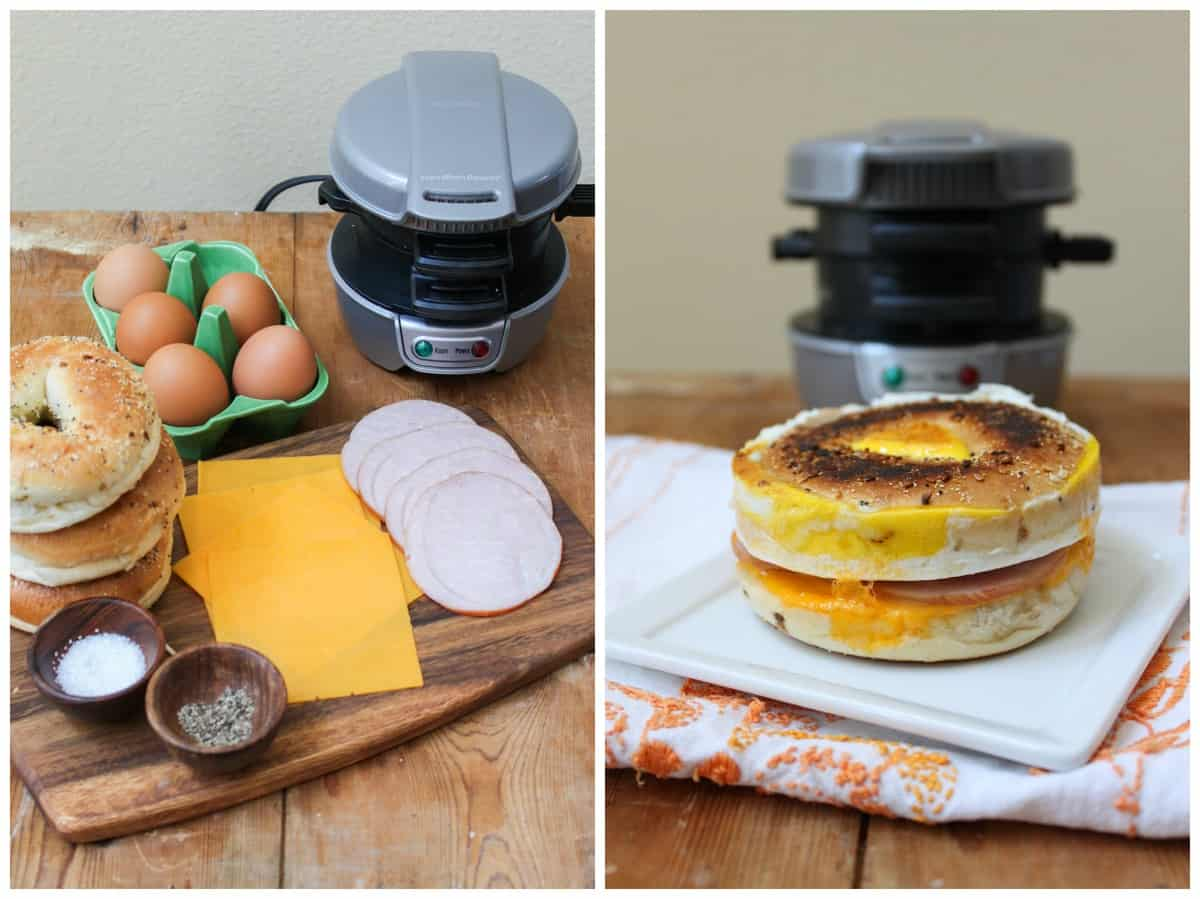 Hamilton Beach Breakfast Sandwich Maker The Little Epicurean