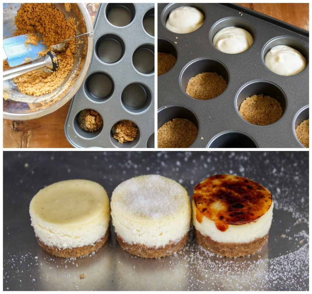 cheesecake brulee steps