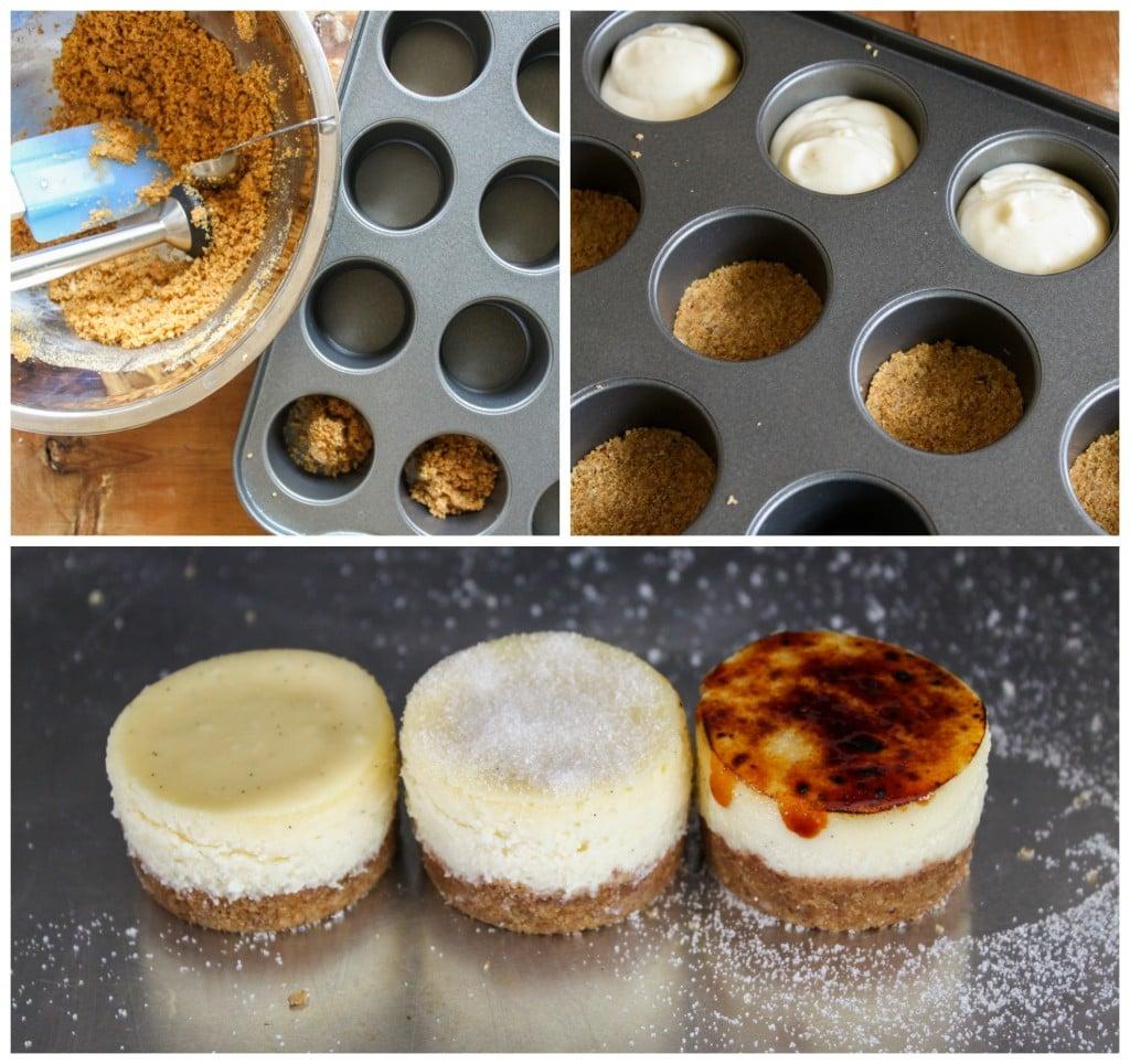 cheesecake brulee steps