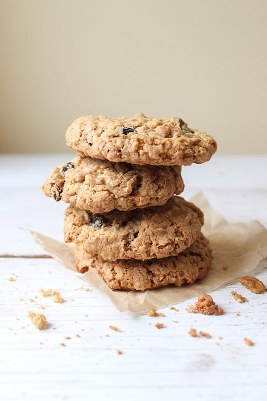 Cherry Pistachio Oatmeal Cookie