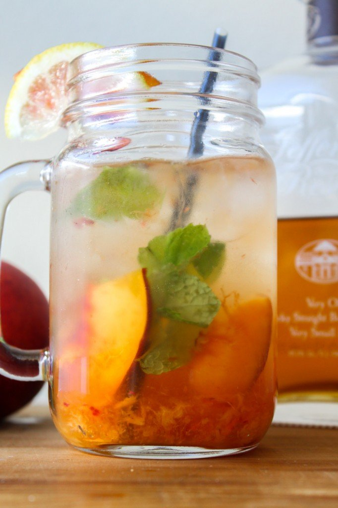 nectarine mint smash