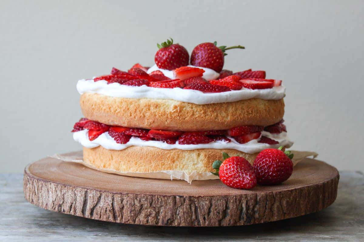 Easy Healthy Sponge Cake Recipe