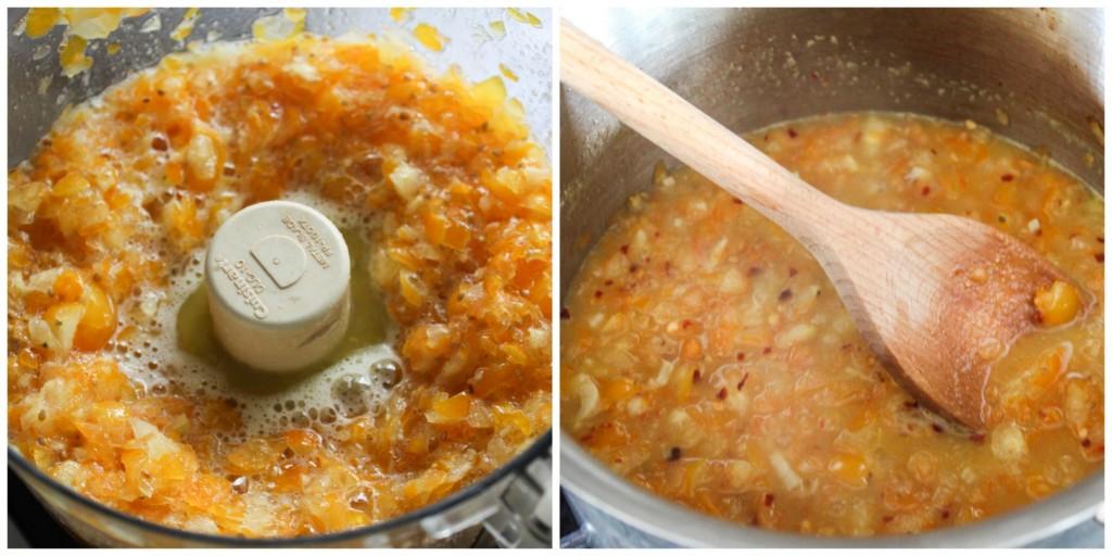 TheLittleEpicurean_quick yellow tomato sauce
