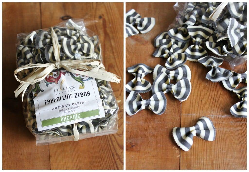 farfalline zebra pasta