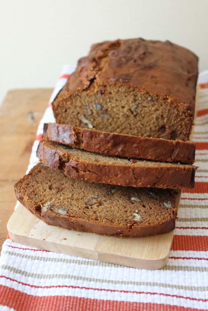 Persimmon Pecan Bread