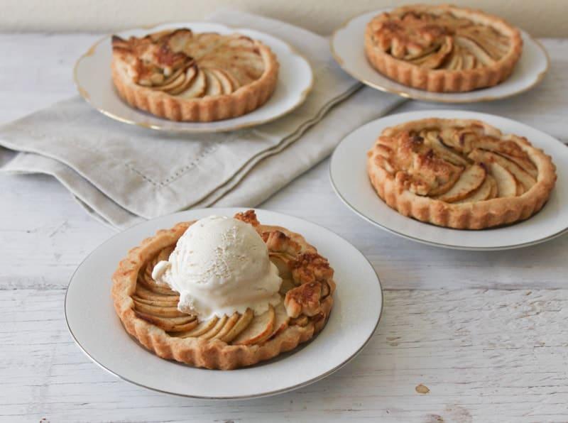 ... apple ice cream tarts thin apple tart with vanilla apple tart with