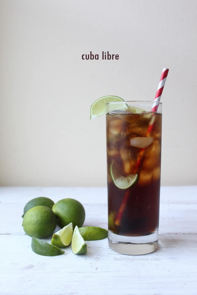 Cuba Libre- The Little Epicurean