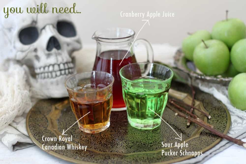 Poison Apple Cocktail Ingredients