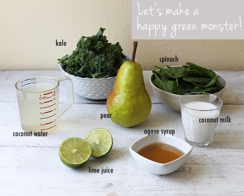 TheLittleEpicurean_green-monster-ingredients