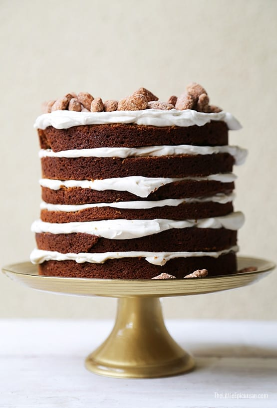 Gingerbread Layer Cake-The Little Epicurean