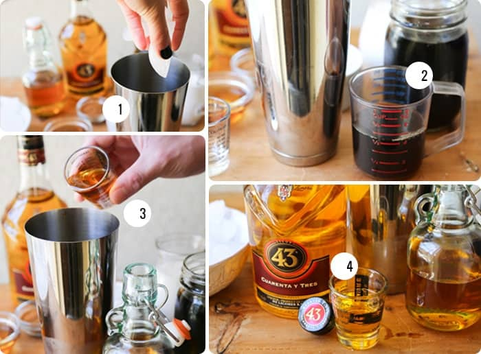 How to make Licor 43 coffee cocktail