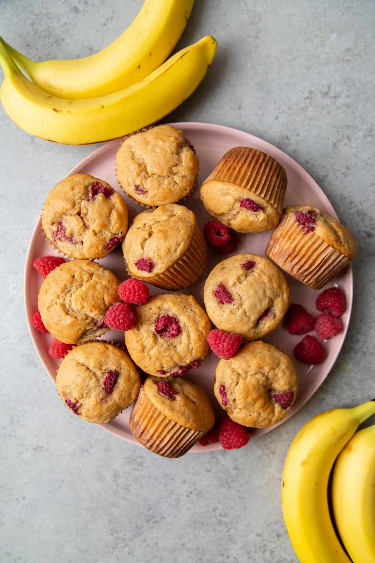 TheLittleEpicurean-banana-raspberry-buttermilk-muffins