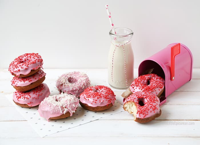 valentine's-day-pink-cake-donuts
