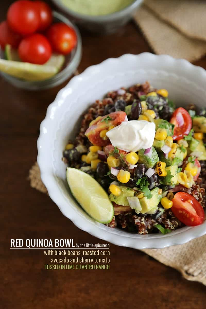 TheLittleEpicurean-red-quinoa-bowl-with-lime-cilantro-ranch